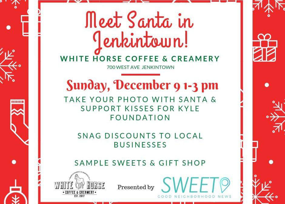 Meet Santa in Jenkintown